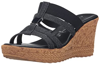 048143a3e66c ITALIAN Shoemakers Women s 5670S7 Sandal Denim 10 ...