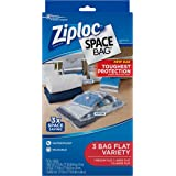 Ziploc Space Bag 3ct Combo Pack (1 Medium Flat, 1 Large Flat, 1 XL Flat)