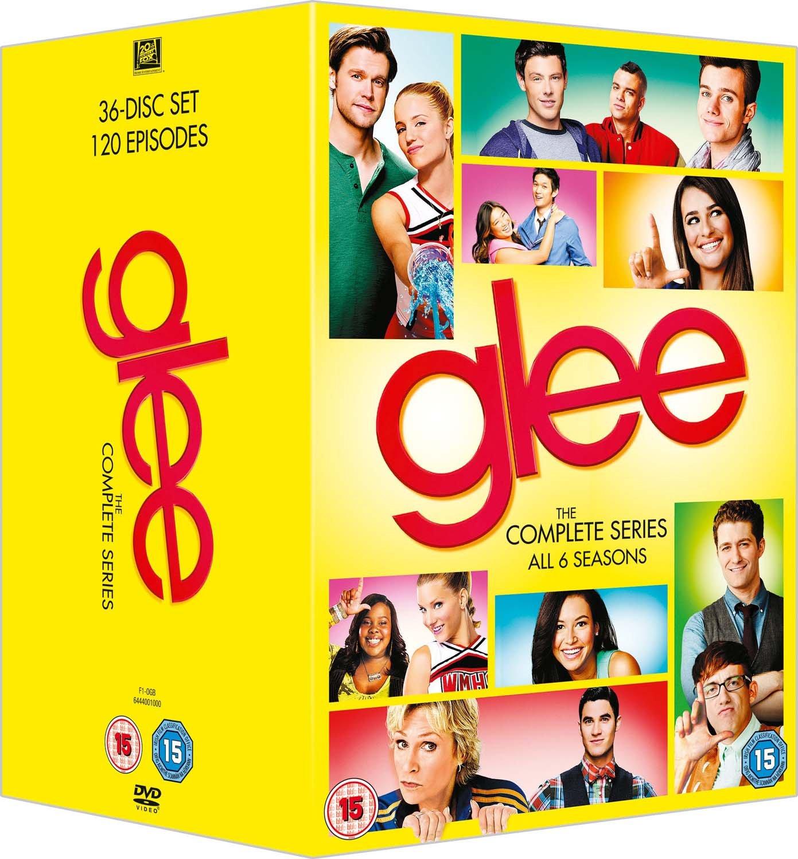 Glee Season 16 DVD Amazoncouk Dianna Agron Chris Colfer – Glee Birthday Card