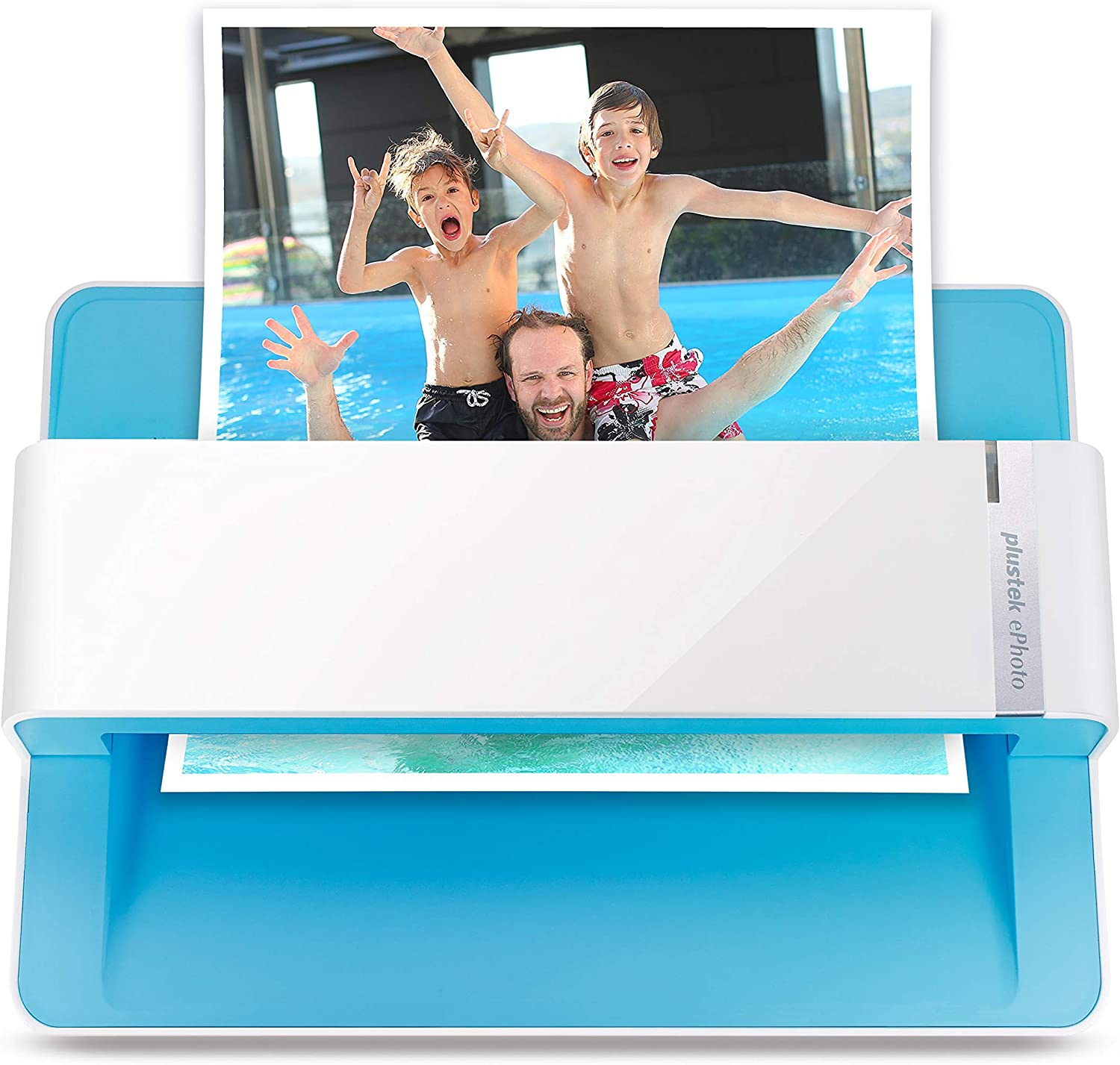 Plustek Photo Scanner - ephoto Z300, Scan 4x6 Photo in 2sec, Auto Crop and Deskew with CCD Sensor. Support Mac and PC: Electronics