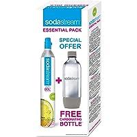 SodaStream Reservepack mit 1x CO2-Zylinder und 1x 1 L PET-Flasche
