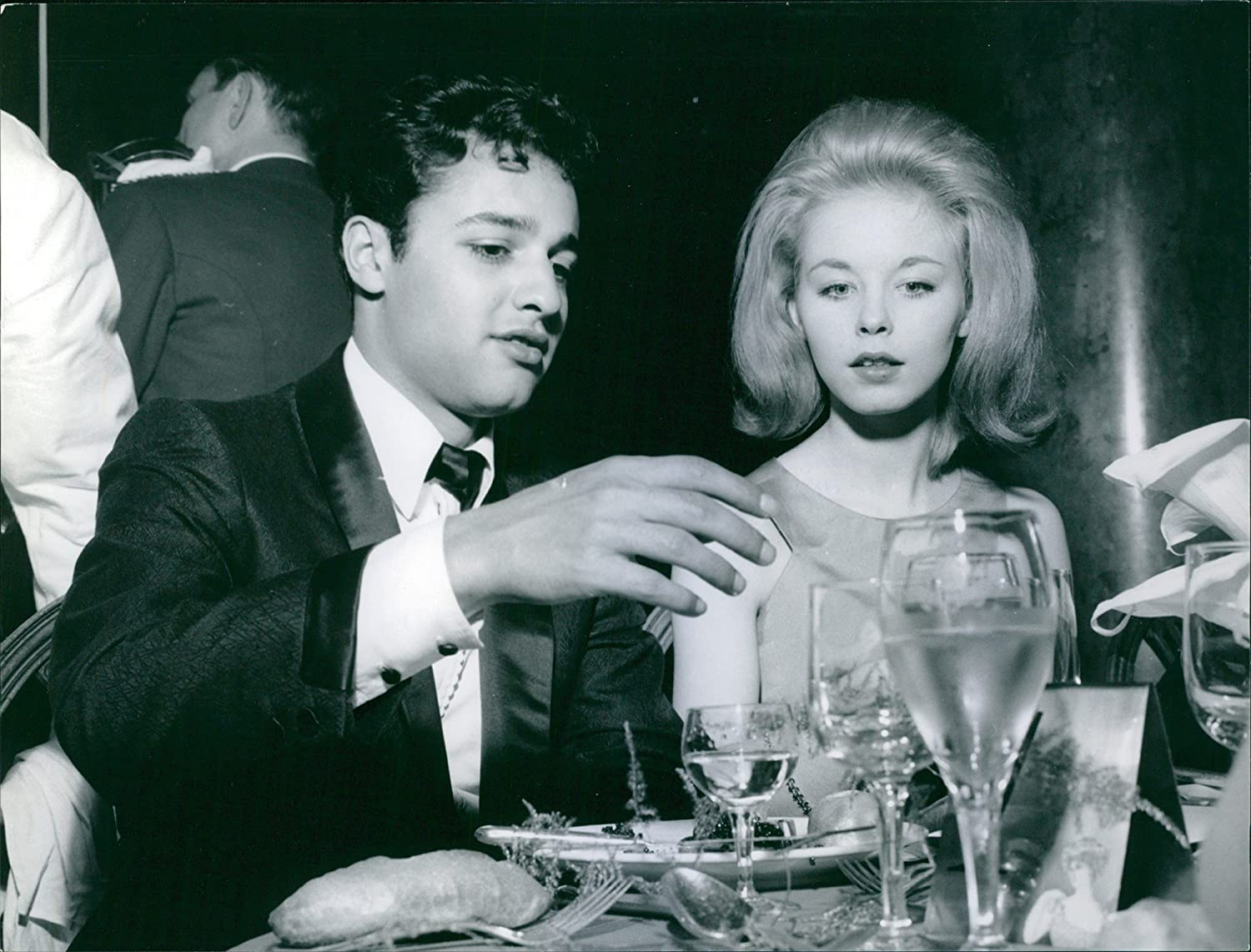 Amazon.com: Vintage photo of Jill Haworth with Sal Mineo in a ...