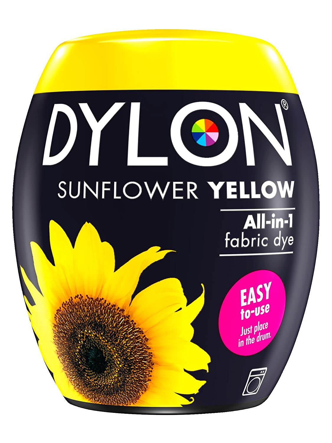 Dylon Teinture à la Machine Jaune Tournesol 350 g