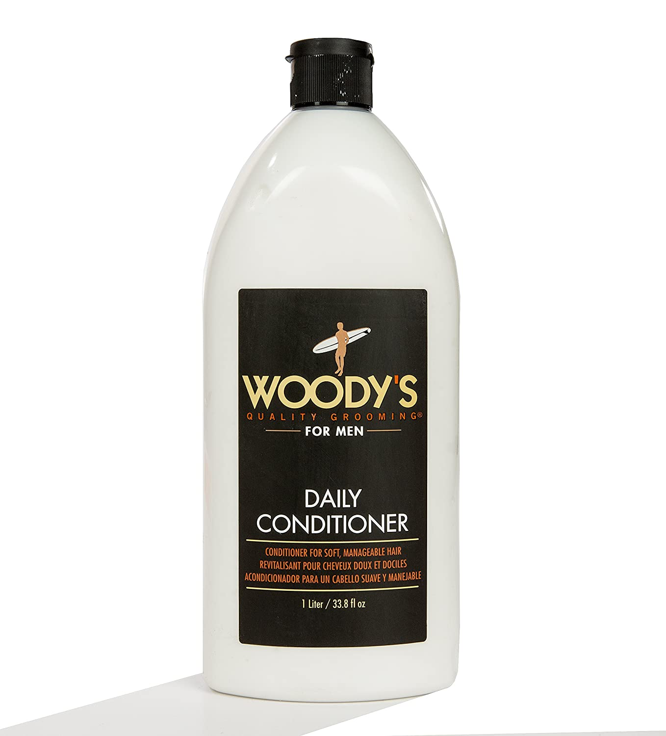 Daily Conditioner by Woody's for Men - 33.8 oz Conditioner Woody' s WOODY-905397