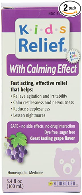 kids relief calm syrup 34 ounce bottle pack of 2 calm casa kids