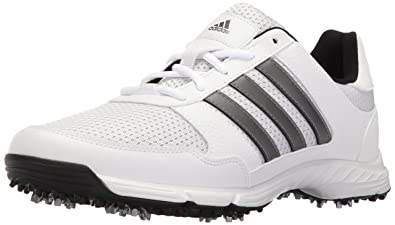 adidas Men's Tech Response Golf Shoe, White, ...