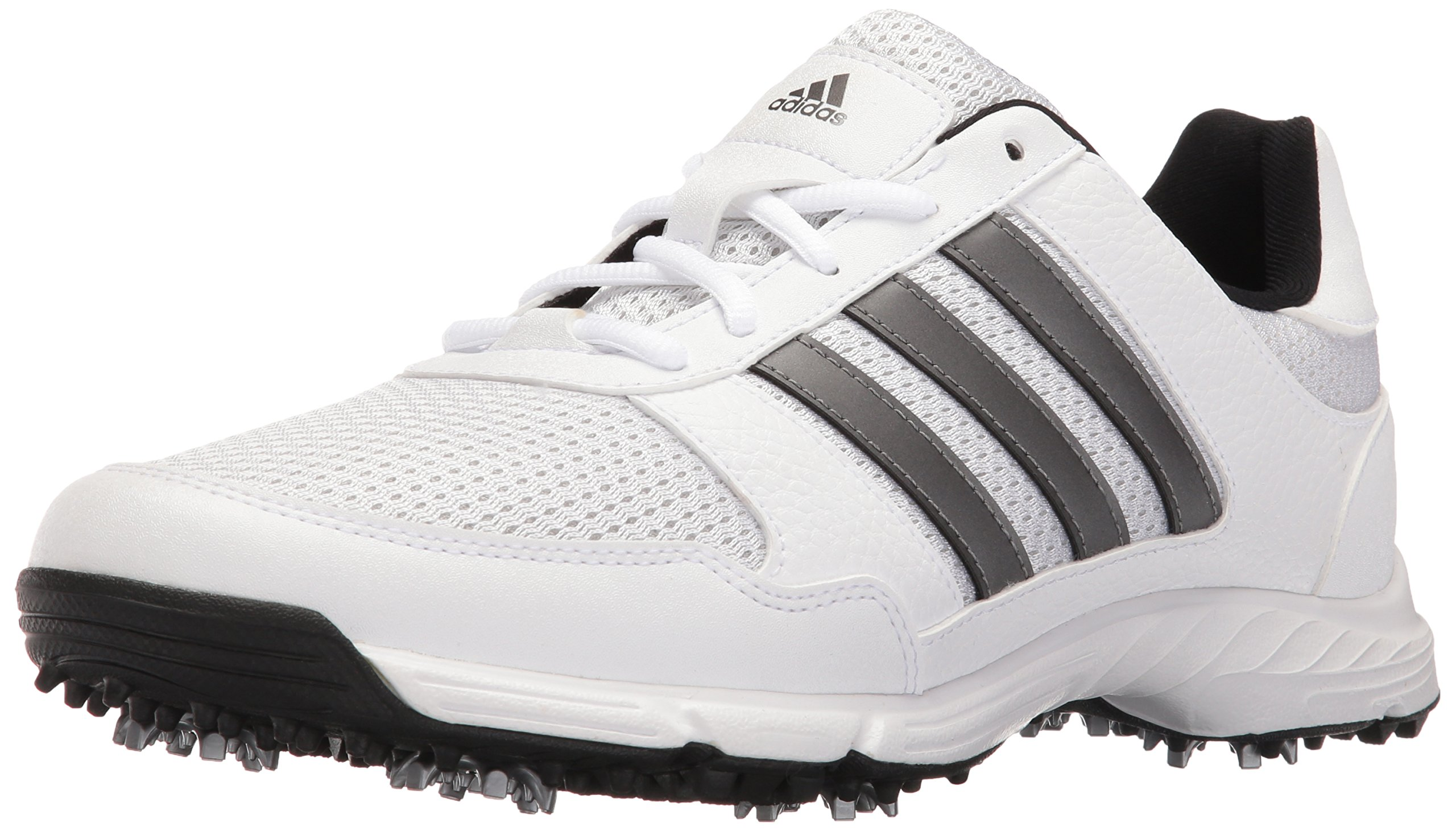 adidas Men's Tech Response Golf Shoe, White, 15 W US by adidas