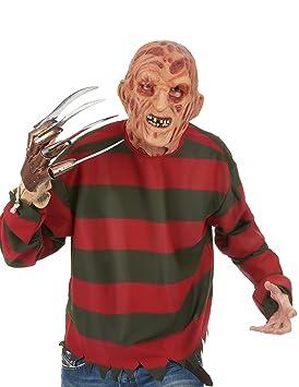 Rubies - Máscara de látex de Freddy Krueger para adulto