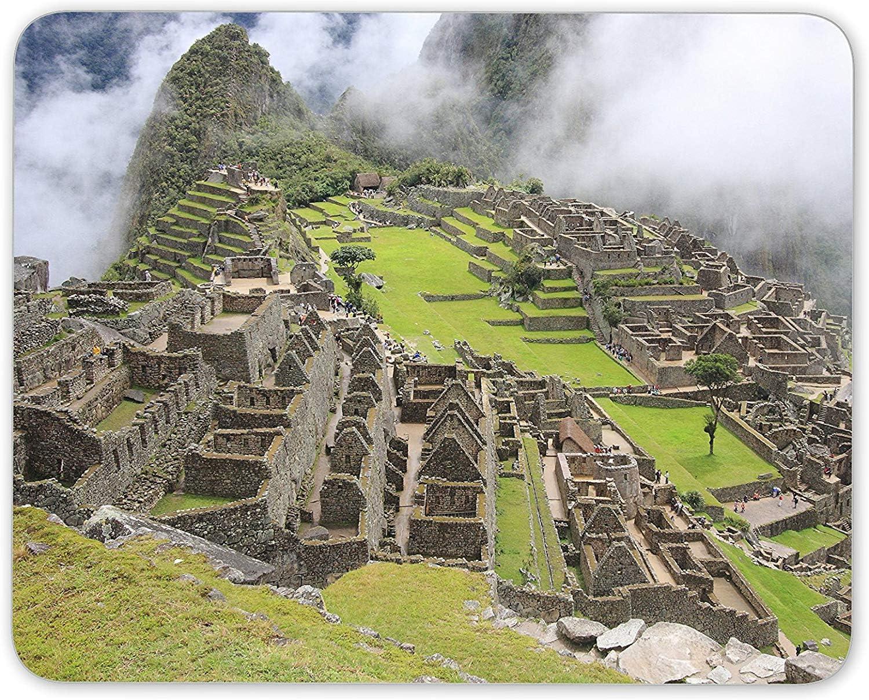 J5E7JYTE Machu Picchu Mouse Mat Pad - Andes Mountain Lima ...