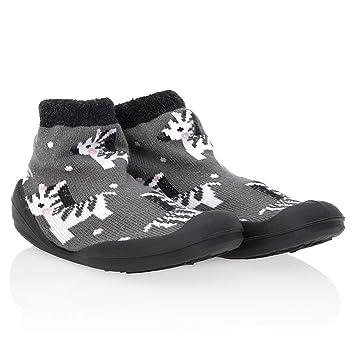 Nuby Snekz Comfortable Rubber Sole Sock