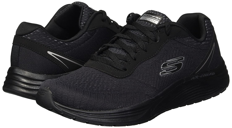 Skechers Women's Skyline B(M) Sneaker B078W7GYVS 5 B(M) Skyline US|Black Bbk 5c7aff