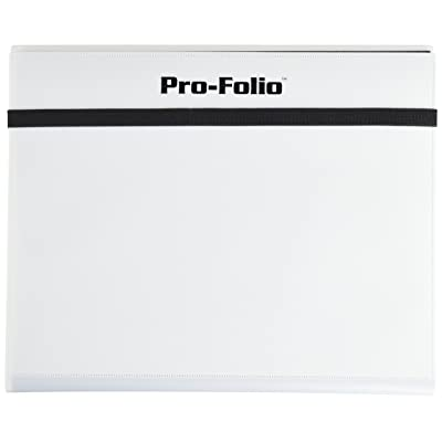 Pro-Folio 9-Pocket Album, White: Toys & Games