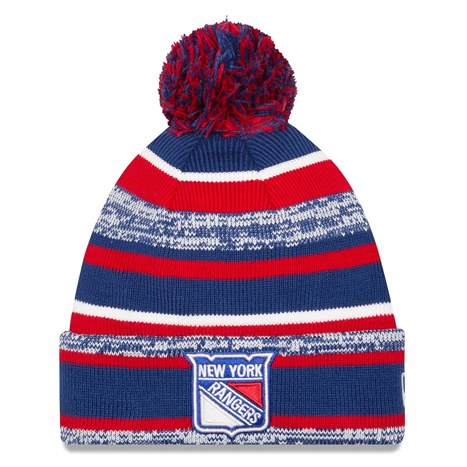 890c3ab8699 ... norway amazon nhl new era sport cuffed knit hat with pom osfm boston  bruins sports outdoors