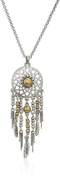 Amazon lucky brand dream catcher pendant necklace jewelry lucky brand dream catcher pendant necklace mozeypictures Images