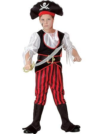 Generique Piraten Faschingskostum Fur Jungen Bunt 122 134 7 9
