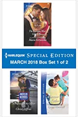 Harlequin Special Edition March 2018 Box Set 1 of 2: The Fortune Most Likely To...\A Proposal for the Officer\Forever a Father Kindle Edition