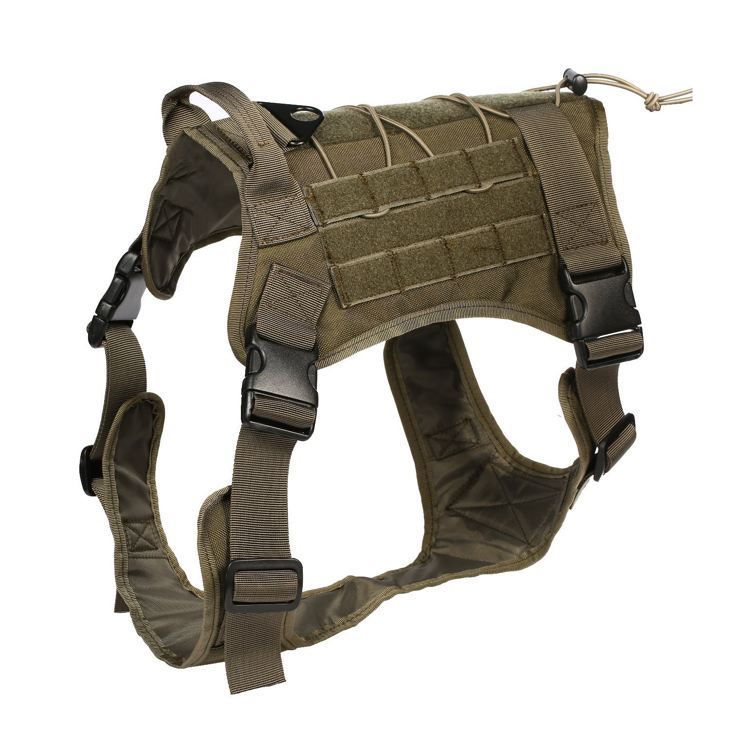 RG XL RG XL Feliscanis Tactical Dog Training Vest Harness Adjustable Service Dog Vest RG Szie XL