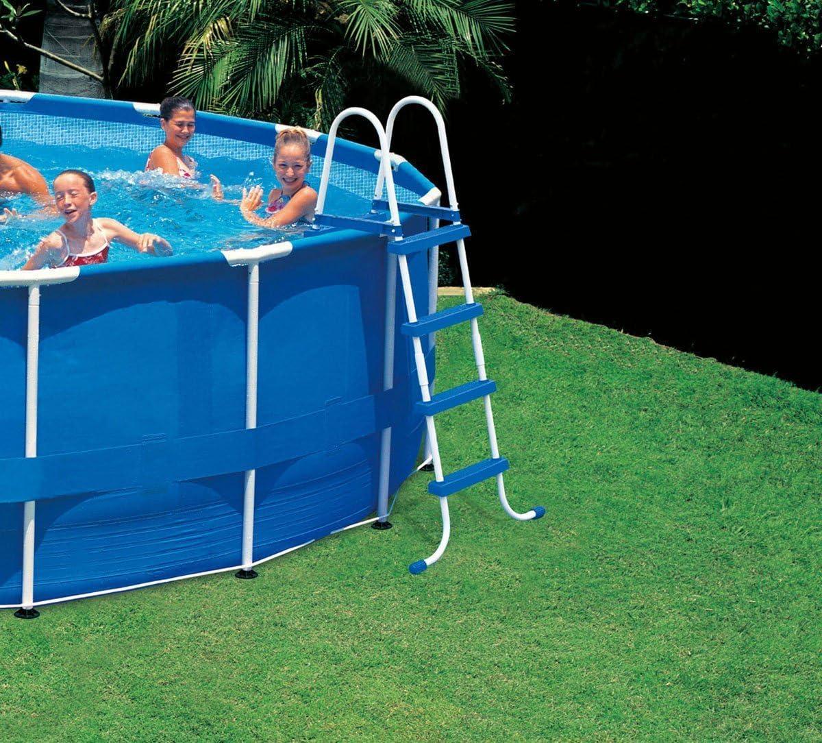 Intex Escalera para piscina sin Plataforma 58974. Jardín Casa Ferr 164061: Amazon.es: Jardín
