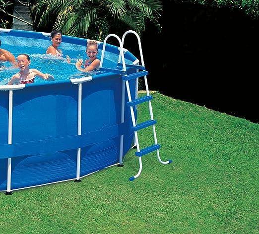 Intex Escalera para piscina sin Plataforma 58974. Jardín Casa Ferr ...