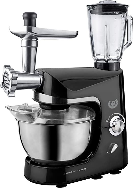 AFK Robot de cocina batidora máquina de picar carne para mezclar dispositivo 1200 W: Amazon.es: Hogar