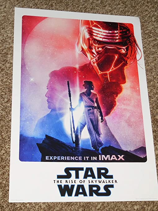 Amazon Com Star Wars The Rise Of Skywalker Imax Poster 13x19 Inch Promo Poster Posters Prints