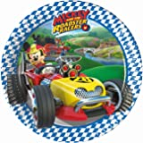 Mickey Roadster Pappteller 20cm