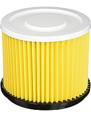 Einhell Ersatz-Faltenfilter mit Deckel für Nass-Trockensauger
