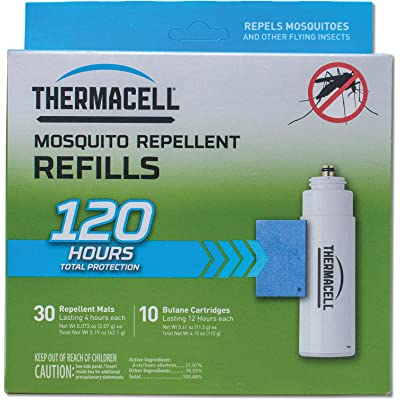 ThermaCELL Mosquito Repellent Refill Pack for Repellers, Torch and Lanterns