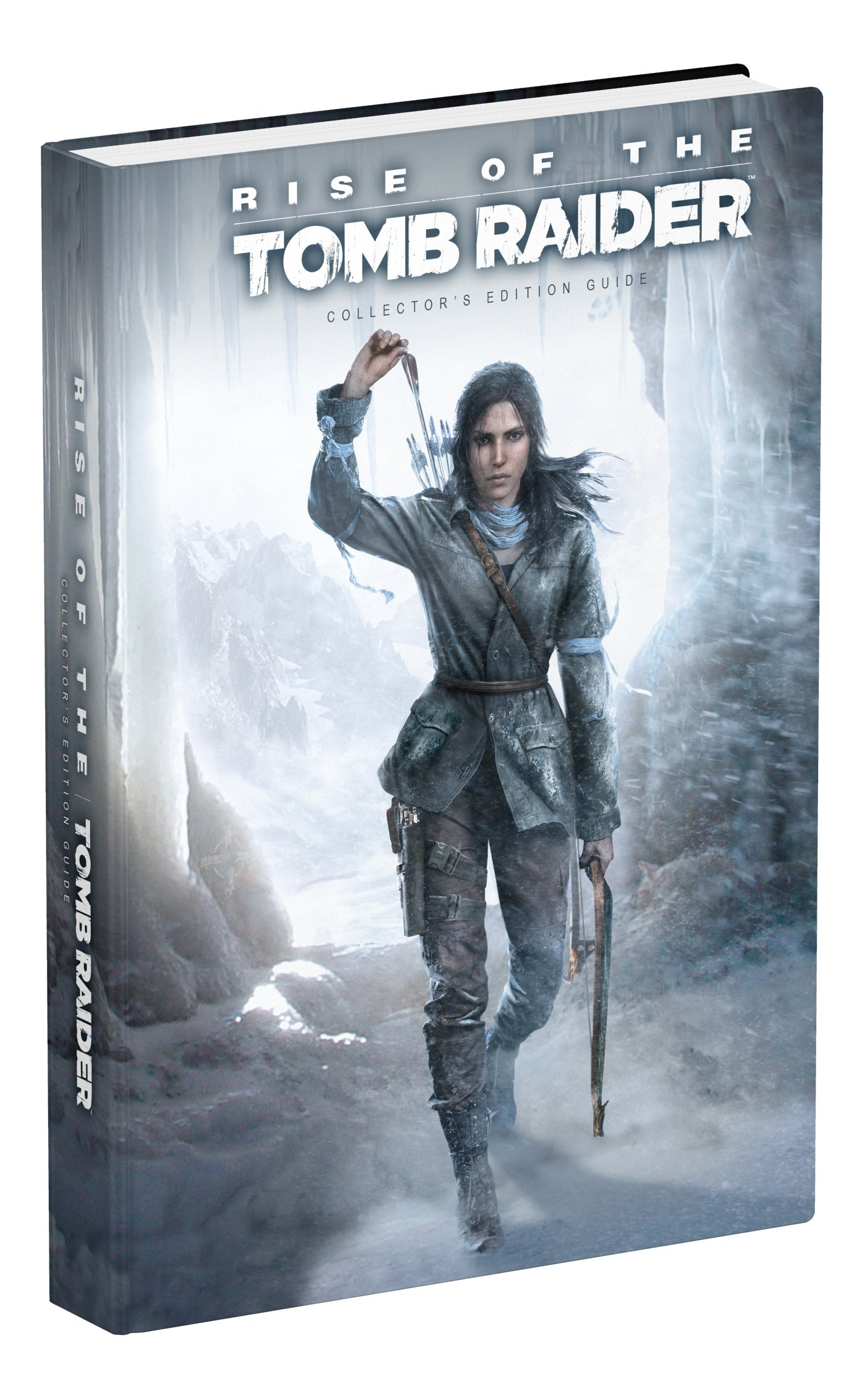 Rise Of The Tomb Raider Collector S Edition Guide Prima Games