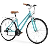 sixthreezero Pave n' Trail Women's 21-Speed Hybrid Road Bicycle, Teal