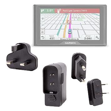 DURAGADGET Kit De Adaptadores con Cargador para GPS Garmin Drive 50 / 50LM / 50LMT /