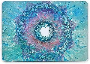 Durable Laptop Case Art Designed Protective Cover for MacBook Laptop Modern Hard Case (Neon Mandala, Pro 15 (A1286) CD-Drive)