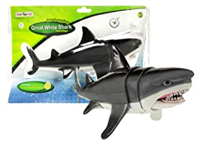 Safari Ltd Jaw Snapping Great White Shark