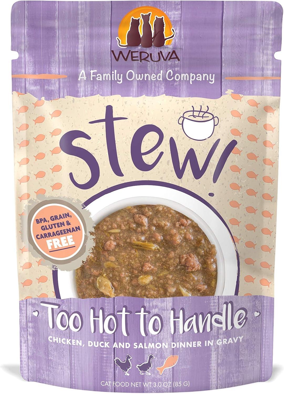 Weruva Classic Cat Stews! Grain-Free Natural Wet Cat Food Pouches