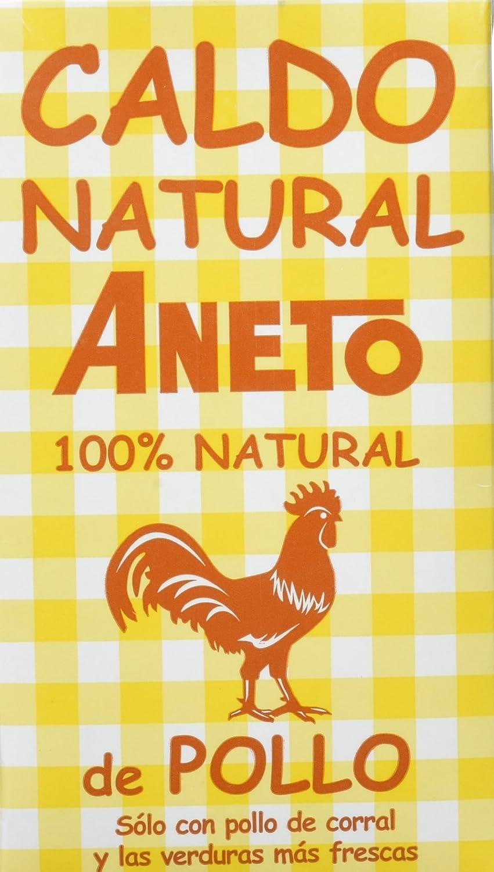Aneto Caldo Natural de Pollo - 1 l: Amazon.es: Amazon Pantry