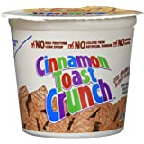 Cinnamon Toast Crunch Cereal Cup Breakfast Cereal, 2 oz (Pack of 12)