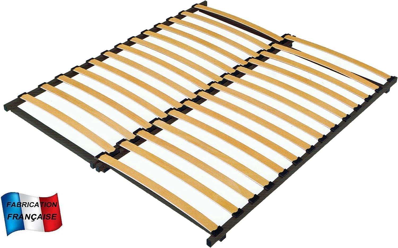 MEUBLEPRO Somier Extensible de 90 a 160 cm (Longitud de 180/185)