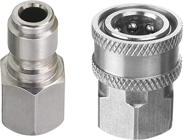 Pressure Washer MS 3//8 /'s MPT Male Threaded Quick Disconnect Coupler  New