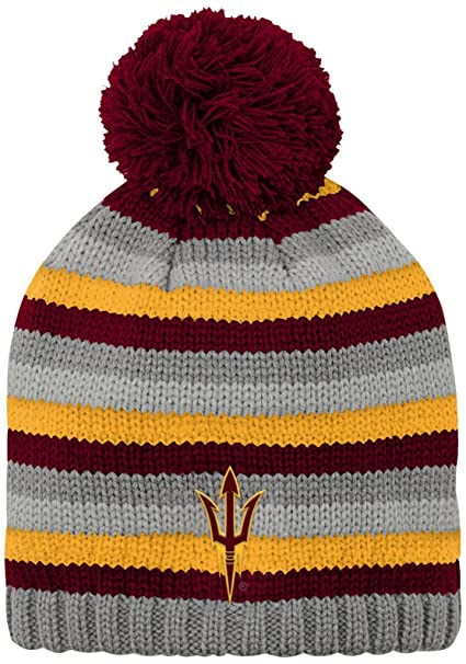 b51f39ce0b6413 Outerstuff NCAA Arizona State Sun Devils Youth Boys Chunky Kit Hat, 1-Size,