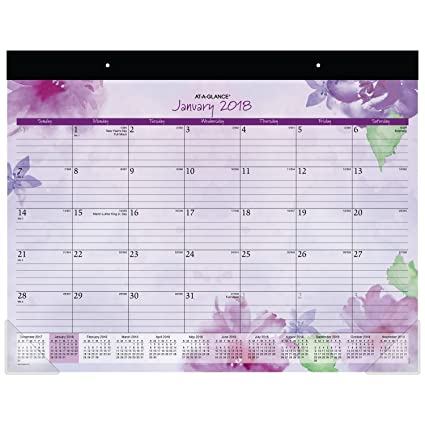 AT-A-GLANCE Column Format Beautiful Day Weekly/Monthly Appt. Book, 8 1/2 x 11, 2018-2019 (938P905)