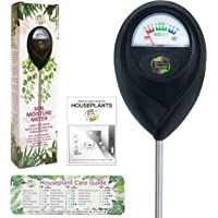 Soil Moisture Meter for Measuring Plant Water Levels. Includes Houseplant Light and Watering Care Guide Fridge Magnet…