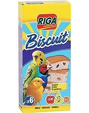 Riga 6 biscotti con frutti per uccelli, confezione da 1 (1 x 70 g)