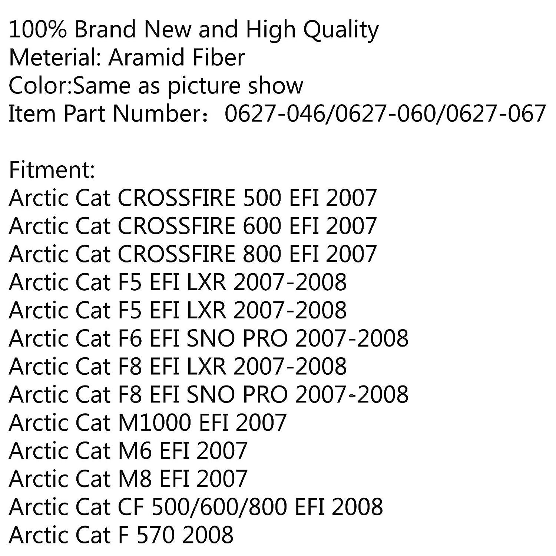 Areyourshop Cinghia di trasmissione per Arc-tic Cat F1000 2007 M1000 153 162 CF8 1.5//2.25 0627-060