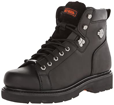 21bfc5cf64d7 Harley-Davidson Men s Barton Lace-To-Toe Motorcycle Boot