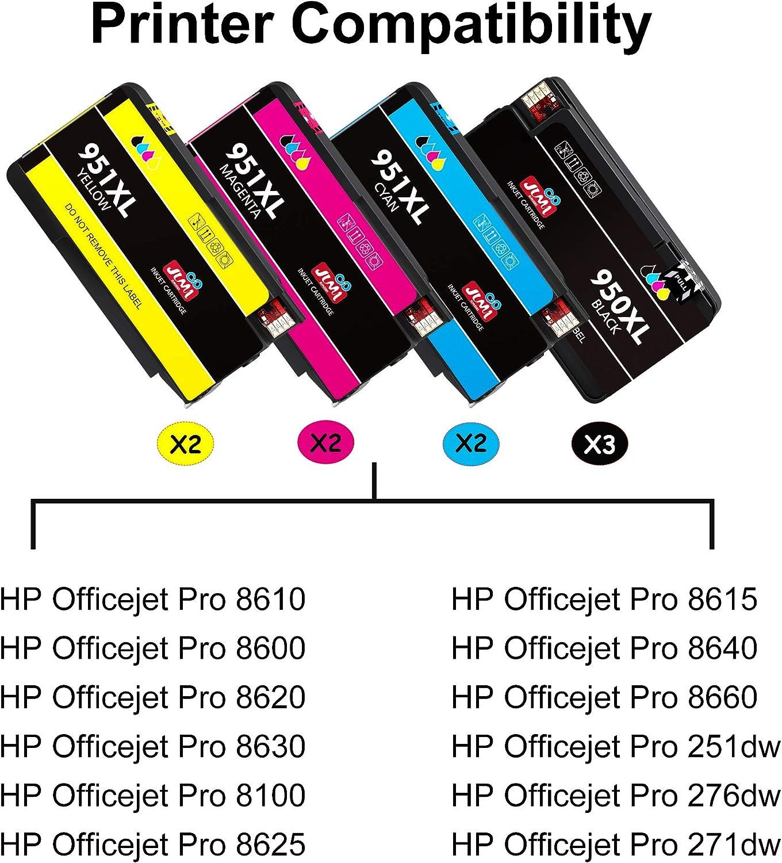 Amazon.com: JIMIGO - Cartucho de tinta de repuesto para ...