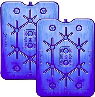 NEMT Lot de 2 accumulateurs de Froid Plats 800 ML 25 x 32,5 x 1,5 cm