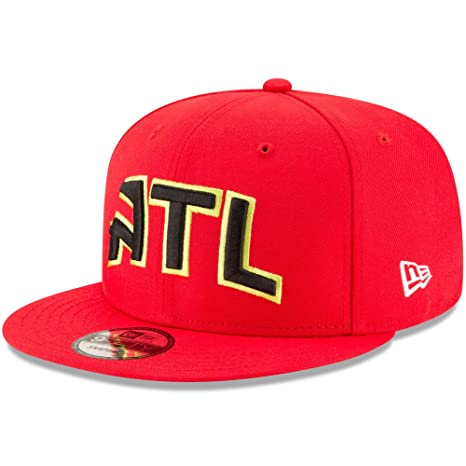 9e264ea9 Amazon.com : Atlanta Hawks New Era Statement Edition 9FIFTY Snapback ...