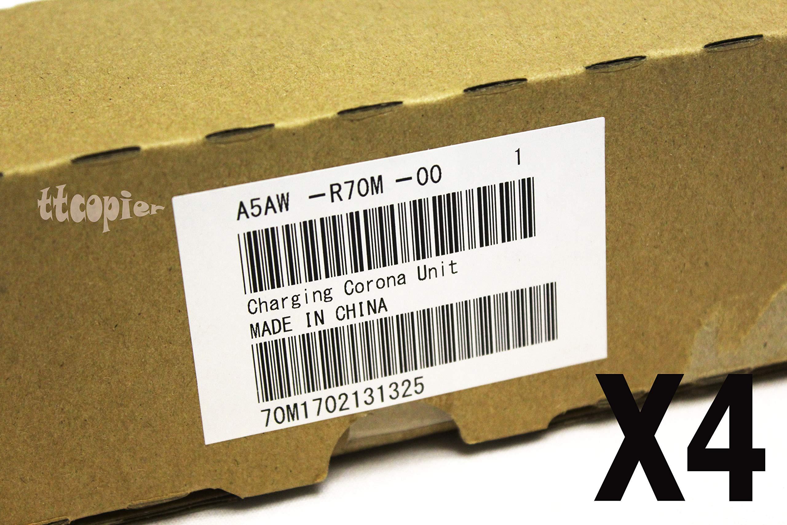 Genuine Konica Minolta Lot of 4, A5AWR70M00 Charging Corona Unit for C1100 C1085