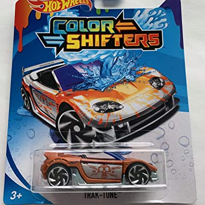 Hot Wheels Color Shifters Trak-Tune: Toys & Games