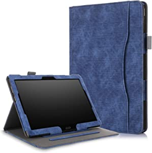 XBE Multifunctional Case for Lenovo Tab M10 TB-X605F TB-X505F / P10 X705F with Multiple Viewing Angles and Hand Holder , Blue